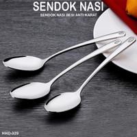 Sendok Nasi tebal 140gr Prasmanan stainles panjang 350 mm