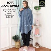 Baju Atasan Wanita Blouse Muslim Joya Jeans Jumbo Tunik