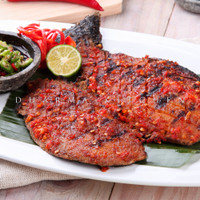 Ikan Bakar Vegetarian by Dharma Kitchen
