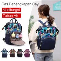Tas Bayi Ransel Backpack Waterproof Multifungsi Backpack Bayi Diaper - navy