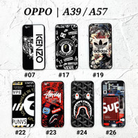 OPPO A39 / OPPO A57  Soft Hard Case MAN GLOSS Casing BAPE Supreme