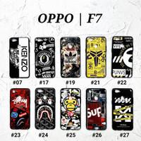 OPPO F7  Soft Hard Case MAN GLOSS Casing BAPE Supreme