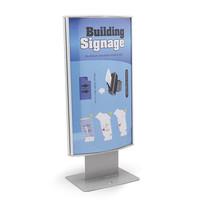 Papan Petunjuk Signage Ruangan (Arc Sign Dua Sisi 20x11,5 horizontal)