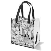 Sakroots Bundling Shopping Bag B&W Peace