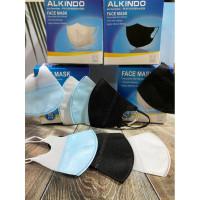 Masker medis Duckbill 3ply packing satuan Hegienis psbb