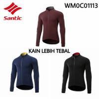 Baju Jersey Sepeda Santic Original Lengan Panjang WM0C01113