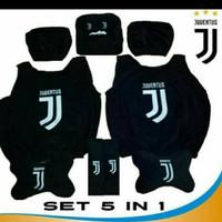 Bantal Mobil Sandaran Jok Mobil Car Set Headrest Juventus