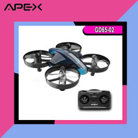 Drone APEX GD65-02 Mini Drone Original Racing Drone Ghost Blue Altitud