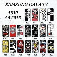 SAMSUNG GALAXY A510 / A5 2016  Soft Hard Case MAN GLOSS Casing BAPE