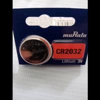 Lithium Battery CR2032 CR 2032 Baterai Batere Kancing 3 v muRata