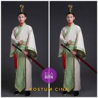 kostum cina dewasa-pria-hanfu-kostum internasional -baju adat cina