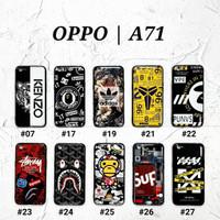 OPPO A71  Soft Hard Case MAN GLOSS Casing BAPE Supreme