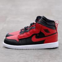 (Pre-School) Nike Air Jordan 1 Mid Banned 100% Authentic