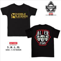 Kaos Baju Anak MOBILE LEGENDS ALTER EGO E Sport Kaos Game - Karimake