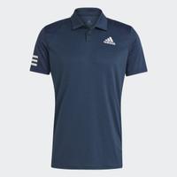 Baju Tennis Adidas Tennis Club 3-Stripes Polo Shirt - Blue GL5458 B