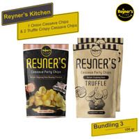 Bundling 3!! Reyner's Kitchen 2pcs Truffle + 1pcs Party Cassava Chips