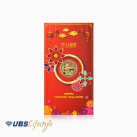 UBS ANGPAO 24K CHINESE NEW YEAR EDITION 0.1 GR