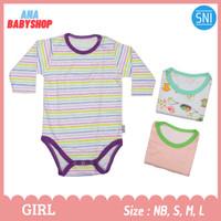 3pcs baju jumper bayi perempuan 0 3 6 12 16 bulan lengan panjang lucu