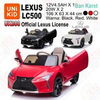 [Gocar] Unikid UK800 Lexus LC500 Ban Karet Mainan Mobil Aki SNI