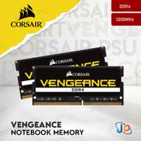 Memory Corsair Vengeance Sodimm DDR4 PC25600 3200Mhz 16GB 2X8GB Ram