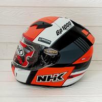 HELM NHK GP1000 SXR BLACK ORANGE DOFF NHK GP 1000 NHK GP1K