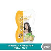 Miranda Hair Mask Sachet Kukui Nut - 30gr