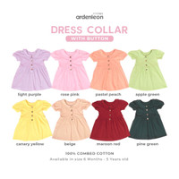 ARDENLEON Collar Dress Button ZG.RUFF.04