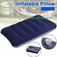 Bantal Angin Tiup Bantal Travelling Inflatable PVC Neck Air Pillow Bed