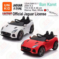 [Gocar] Unikid UK797 Jaguar F Type Ban Karet Mainan Mobil Aki SNI