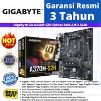 Motherboard Gigabyte AMD A320M S2H Socket AM4 Ryzen