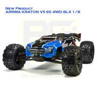 ARRMA KRATON V5 6S 4WD BLX 1/8 SPEED MONSTER TRUCK RTR (BLUE)