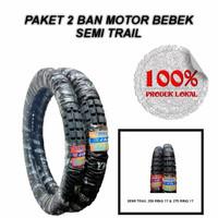 PAKET 2 BAN MOTOR BEBEK SEMI TRAIL 250 RING 17 & 275 RING 17 TERMURAH