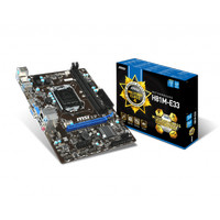 MOTHERBOARD MSI H81M-E33 (LGA1150, DDR3)