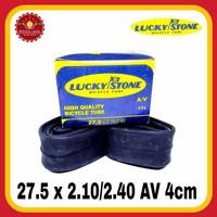 LUCKY STONE 27.5 x 2.10/2.40 AV 40mm Ban Dalam Sepeda