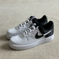 Nike Air Force 1 NBA Black Satin (100% Authentic) - 43