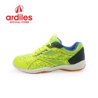 Ardiles Men Crescendo Sepatu Badminton - Hijau Hitam