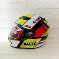 HELM NHK GP1000 SXR BLACK YELLOW NHK GP 1000 NHK GP1K