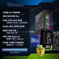 PC Rakitan Gaming i5 10400F ft RTX 2080 Super Setara RTX 3060 Ti Resmi