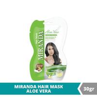 Miranda Hair Mask Sachet Aloe Vera - 30gr