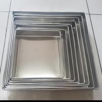 loyang kue lapis surabaya kotak/loyang bolu gulung ukuran 22cm tgi 4 - 32 cm