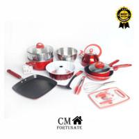 panci set Supra Rosemary Panci 17 pcs Premium Quality