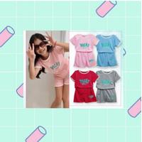 Baju Anak Pocky/Setelan Pocky Anak 5-8Y/Baju Anak unisex/Baju kekinian