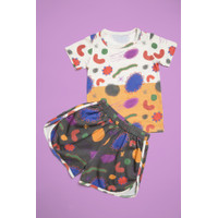 GERMS_ kaos dan celana_baju rumah anak
