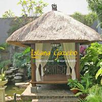 Gazebo 2x2 atap alang - alang
