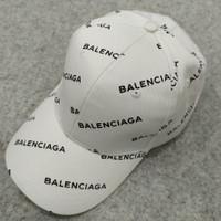 Topi Balenciaga Cap Baseball Putih White Original Asli ORI Classic NEW