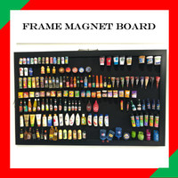 FRAME MAGNETIC BOARD - PAPAN DISPLAY TEMPEL MAGNET CUSTOM SIZE
