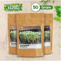 Benih Sayur Microgreens Coriander (50 gram)