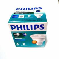 Lampu LED Philips Essential LED MR16 4,5W 220V Kuning 4,5 Watt Halogen