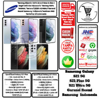 Samsung Galaxy S21 Plus + 8/128 8/256 S21 Ultra 12/256 16/512 GB Resmi