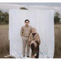 KAIN BACKGROUND FOTO STUDIO BAHAN DOFF WARNA PUTIH MURAH